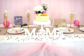 Table Decoration Party Ideas Top Decorating For Birthday
