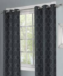 100 Residence Curtains Indigo Mandi Grommet Curtain Panel Set Of Two