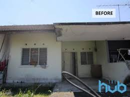 100 Houses In Malaysia This Rundown Single Storey Terrace House PJ Was Transformed To