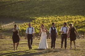 Rustic Wedding Decorations Adelaide Hills Winery Image