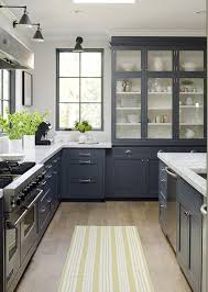 Modern Kitchen Decorating Room Ideas Interior Decor Wood Floor Marble Countertop White Grey Cabinet Design