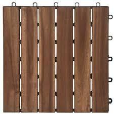 garden winds dt01 gy six slat deck tiles contemporary 10 count