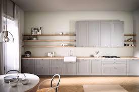 küchenmöbel grau landhaus parkett küchen journal