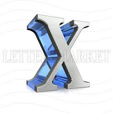 LettersMarket Royalty Free X