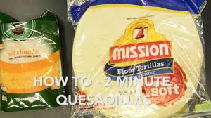 ission cuisine 2 how to 2 minute quesadilla