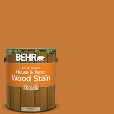 Thompsons Waterseal Deck Wash Msds by Behr 1 Gal Sc 140 Bright Tamra Solid Color House And Fence Wood