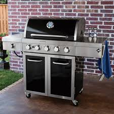 member s mark stainless steel and porcelain 5 burner gas grill