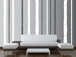 Wall Mural Decals Canada by Birch Tree Wall Art Decals Mural Birch Tree Wall Decal Decor