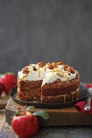 Apple Pecan Carrot Cake