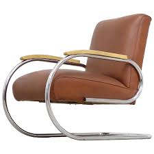 Tubax Easy Chair Bauhaus 1920 Steel Tube Lounge Chair Breuer ...