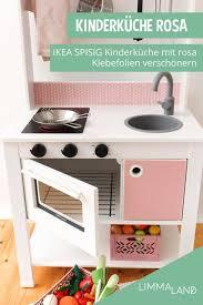 klebefolie für ikea spisig kinderküche rosa ikea küche
