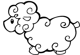 Free Printable Sheep Coloring Pages