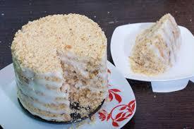 einfache torte mit schmandcreme und vanille