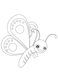 The Printable Beautiful Butterfly Coloring Sheet Of Cute