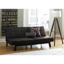 delaney split back futon sofa bed multiple colors walmart com