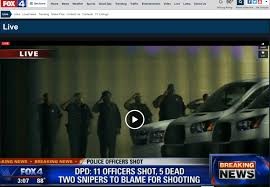 5 Police ficers Killed 6 Wounded by Snipers in Dallas