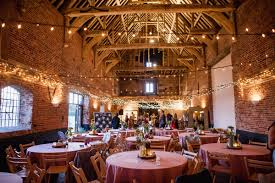 Image Of Decorations For A Barn Wedding Reception