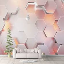 großhandel rosa schlafzimmer tapete gunstig
