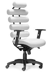 white ergonomic office chair office table