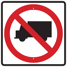 Brady Part: 94163 | No Trucks Picto Sign | BradyID.com This Sign Says Both Dead End And No Thru Trucks Mildlyteresting Fork Lift Sign First Safety Signs Vintage No Trucks Main Clipart Road Signs No Heavy Trucks Day Ross Tagg Design Allowed In Neighborhood Rules Regulations Photo For Allowed Meashots Entry For Heavy Vehicles Prohibitory By Salagraphics Belgian Regulatory Road Stock Illustration Getty Images