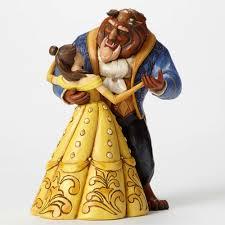 Jim Shore Halloween Disney by Disney Traditions 4049619 Belle And Beast Dancing Moonlight Waltz