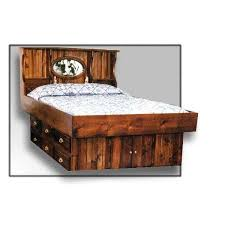 Queen Size Waterbed Headboards by Hardside Waterbed Crestwood Bookcase Headboard Free Shipping