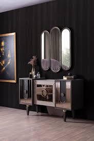 weltew sideboard mit spiegelelementen lizbon gold moebel