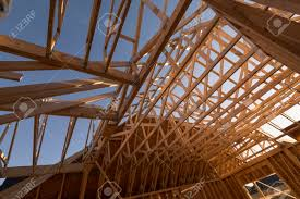 100 House Trusses New Construction House Trusses And Wooden Frames