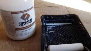durawax acrylic floor wax shine and protect concrete or tile