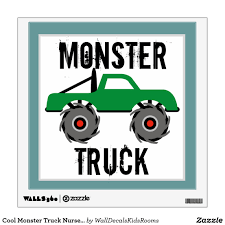 Cool Monster Truck Nursery Kids Wall Decal | Baby T-Shirts & Baby ... Monster Trucks Wall Stickers Online Shop Truck Decal Vinyl Racing Car Art Blaze The Machines A Need For Speed Sticker Activity Book Cars Motorcycles From Smilemakers Crew Wild Run Raptor Monster Spec And New Stickers Youtube Build Rc 110 Energy Ken Block Drift Self Mutt Dalmatian Pack Jam Rockstar Sheets Get Me Fixed And Crusher Super Tech Cartoon By Mechanick Redbubble Ford Decals Australia