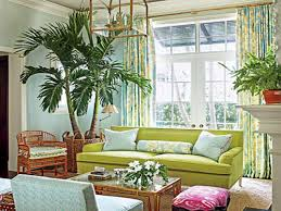 Southern Style Living Rooms Tropical Florida Room Decor Jungle