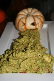 Picture Of Pumpkin Throwing Up Guacamole by 11 Creepy Halloween Foods To Make Your Mouth Scream