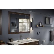 Kohler Tri Mirror Medicine Cabinet by Amazon Com Kohler K 99011 Na Verdera 40 Inch By 30 Inch Slow