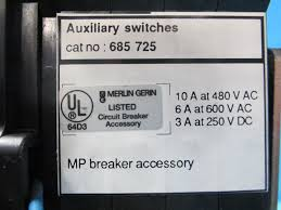 Siemens Dresser Rand Synergies by Merlin Gerin Mp50h2 5000a Masterpact Circuit Breaker 5000 Amp Trip