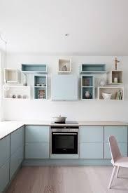 etageres de cuisine étagère cuisine en bois vintage scandinave graphique côté