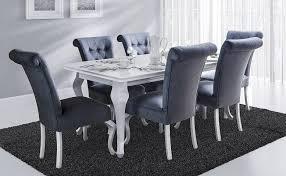 esstisch tisch mit 6 stühlen luise essgruppe esstischset