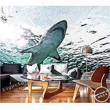 pmhhc benutzerdefinierte 3d große wandbilder marine aquarium