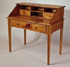 Drop Front Writing Desk by Custom Made Shaker White Pine Writing Desk By White Sands Custom