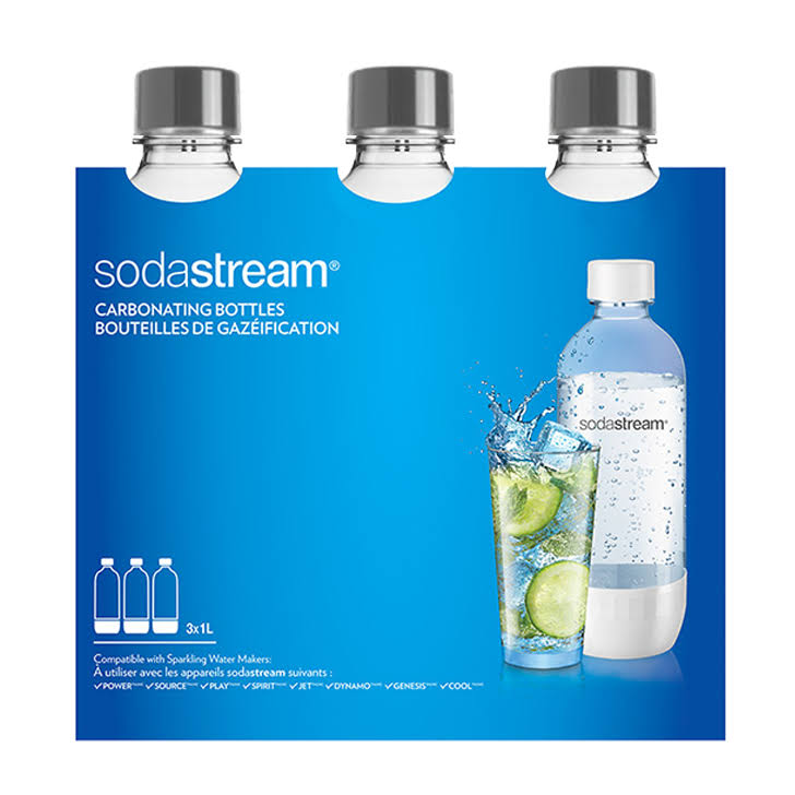 SodaStream Triple Pack Bottles