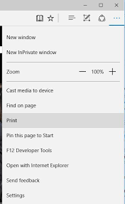 Fix Cant Print From Edge On Windows 10