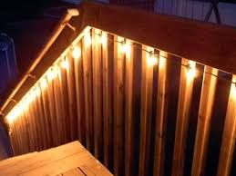 Solar Lights For Deck Stairs by Best 25 Back Deck Decorating Ideas On Pinterest Easy Patio