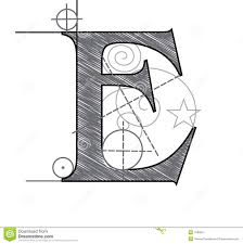 Letter M stock vector Image of business education planning
