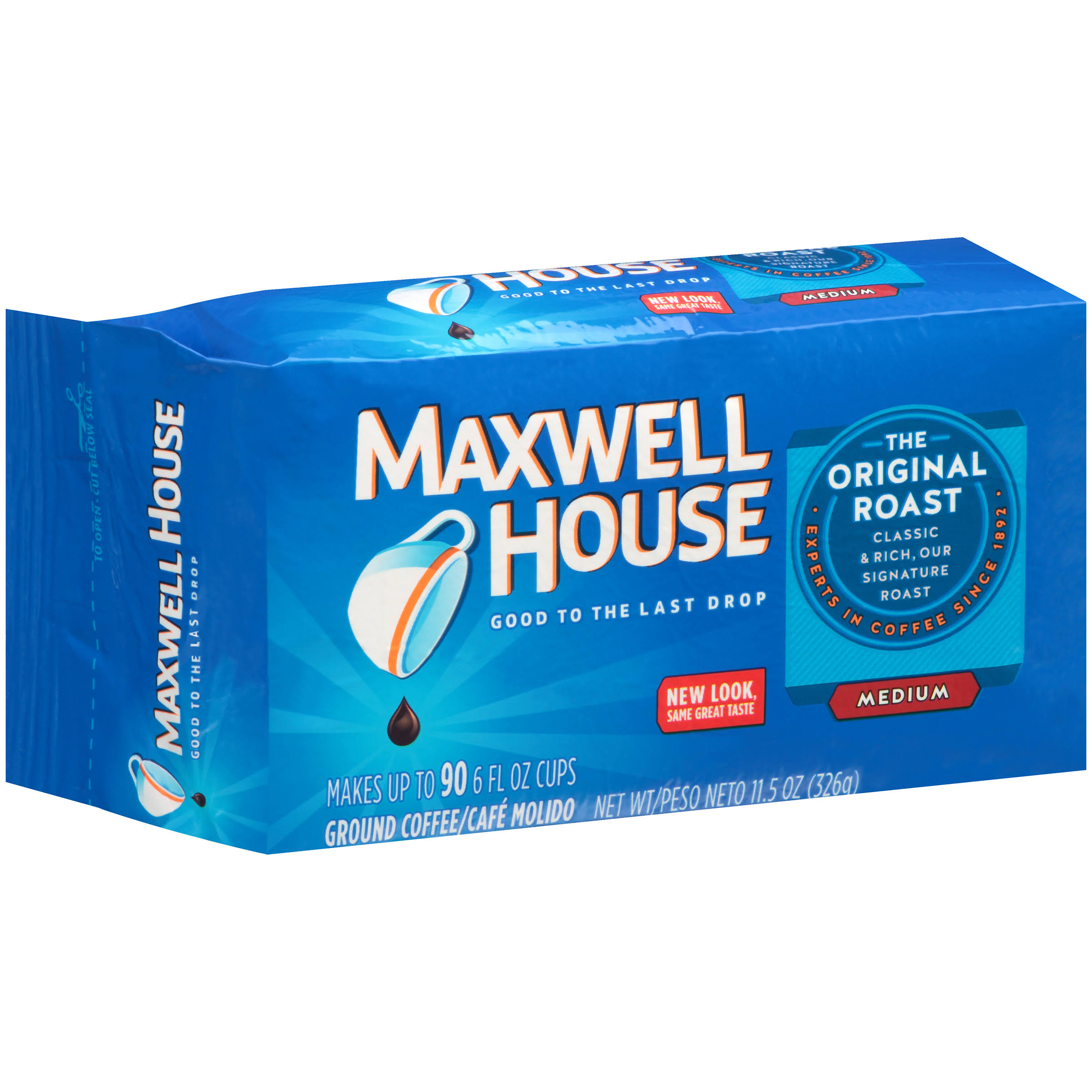 Maxwell House The Original Roast Ground Coffee - 326g