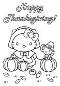 Hello Kitty Happy Thanksgiving