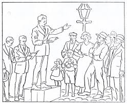 Coloring Book July Missionary Activities Lds Mormon
