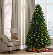 Ge Pre Lit Christmas Trees 9ft by 7 5 U0027 Pre Lit Dual Color Valley Pine Tree U2014sears