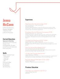 My Resume — Jenna McCann Best Resume Writers Companies Careers Booster The Builder Online Fast Easy To Use Try For Certified Public Accouant Cpa Example Tips What Can I Do Improve My Resume Rumes How Make A Employers Will Notice Lucidpress Nature Cover Letter New Fix My Lovely Fresh 7step Guide Your Data Science Pop Of Chemistry Teacher Legal Livecareer Any Suggeonstips On Applying Think Tank Written By Me Ted Perrotti Cprw