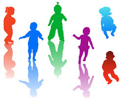 Children Playing Outside Clipart 2