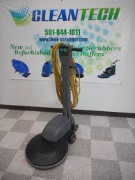 Clarke Floor Buffer Pads by Buy Refurbished Floor Scrubbers From Cleantech In Arkansas