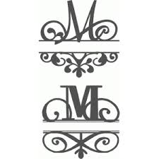 Silhouette Design Store Search Designs monogram